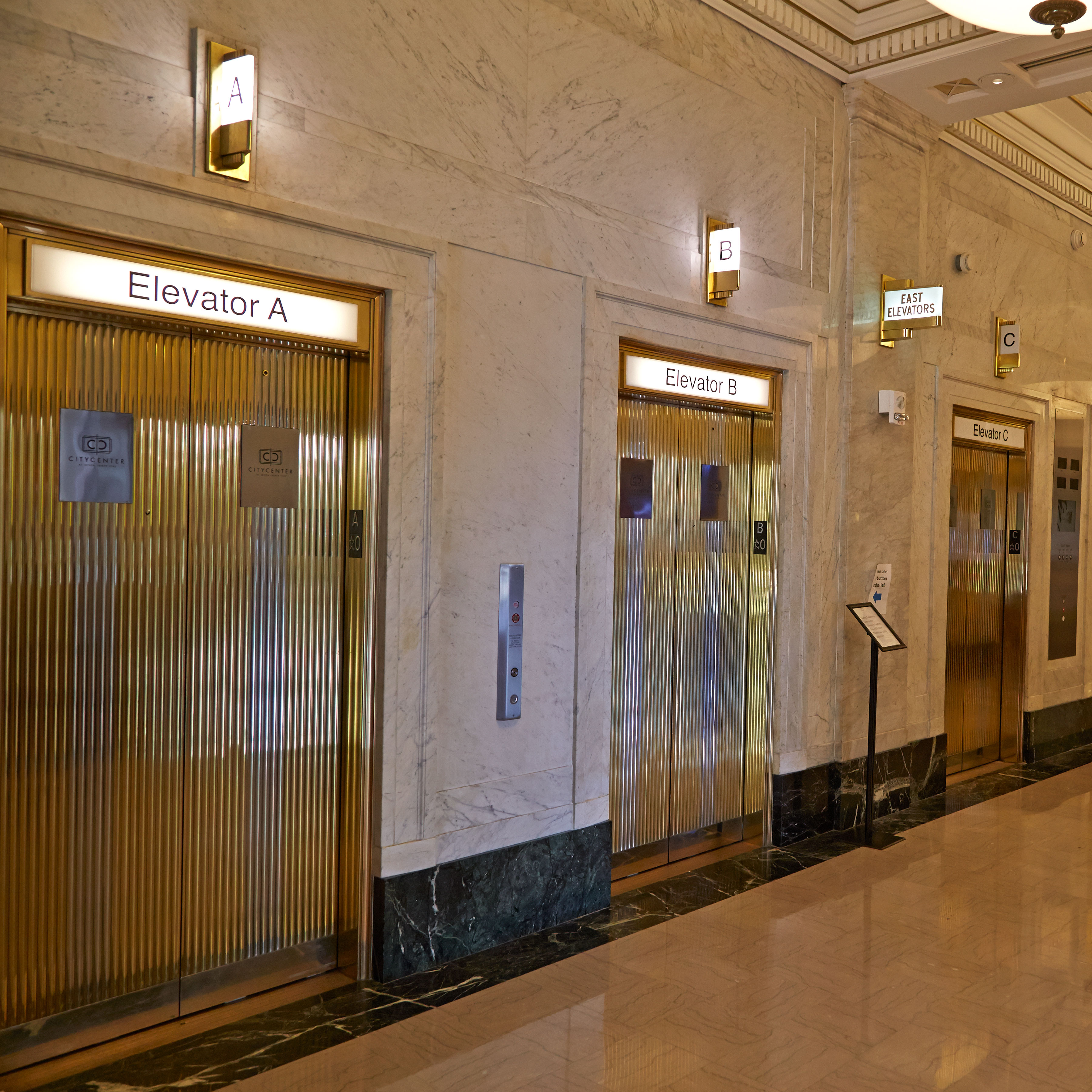 Riverwalk_Dentist_Elevator Lobby